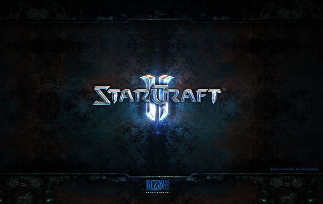 Starcraft 2 Wallpaper logo
