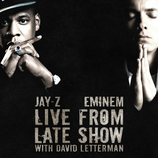 Jay-Z & Eminem - Live From Late Show With David Letterman by Harrison T | Photography. Design