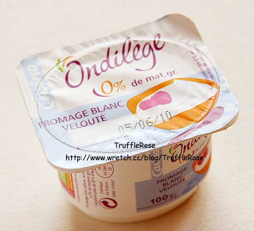 透明度百分百的幸福。杏桃汁 Fromage Blanc-France-100527