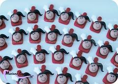 Mestres-cucas (Ateli Mariana Castro) Tags: lembrana artesanato biscuit boneca mestre cozinha cuca ch im panela tbua bonequinha lembrancinha porcelanafria