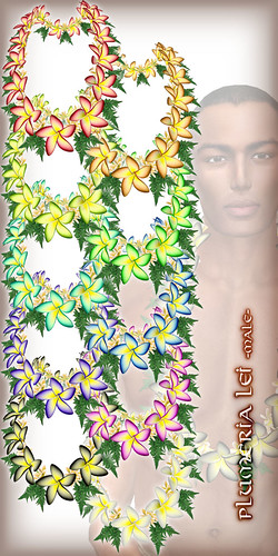 * Charmed * Plumeria Lei (Large) All Colors