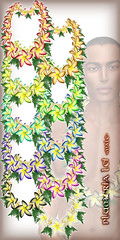 Hula Plumeria Lei (Large) All Colors