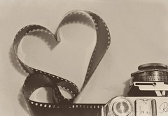 expose your heart, it's worth it (enjoythelittlethings) Tags: camera classic love film vintage photography heart grain retro conceptual exposed cliche hcs retinaii canon50d itsakodak ishouldjustusethisformy365