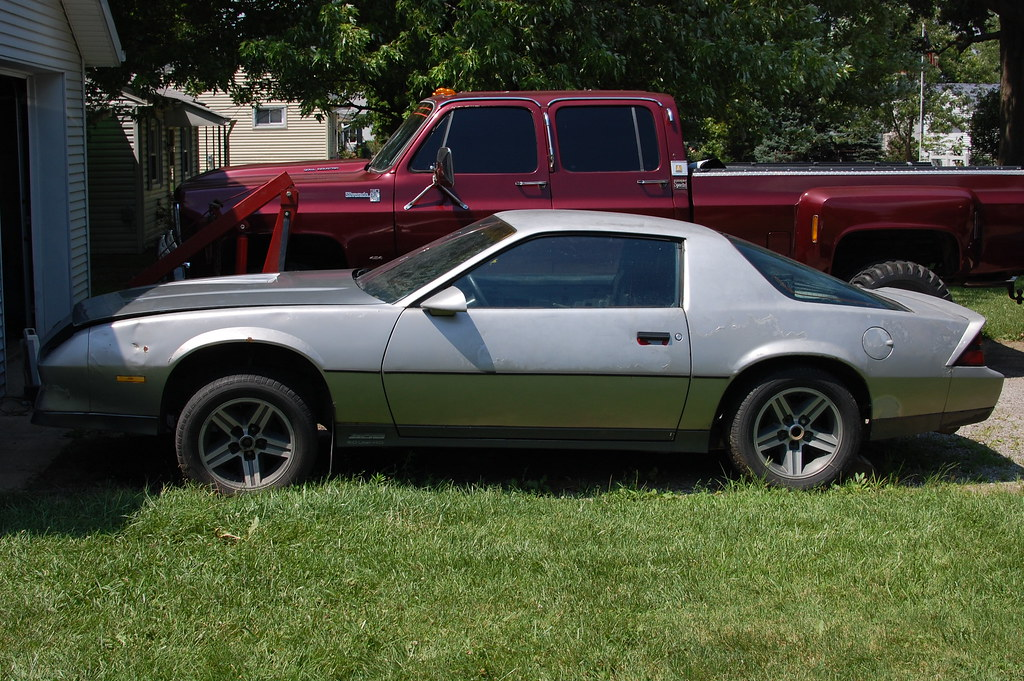 Z28 82 84 With Iroc Rims Third Generation F Body
