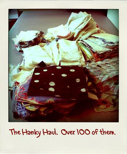 Hanky Haul roid