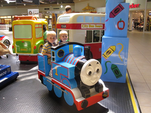 Thomas at the Mall