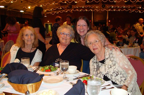 CGOA Dinner and Fashion Show 2010 - Marty Miller, Jean Leinhauser, Rita Weiss and Samantha Farrell