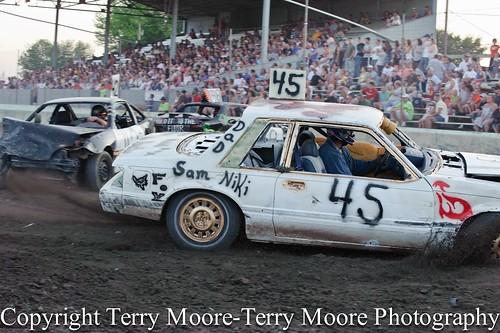 Double Figure 8 Race Lycoming County Fair-11