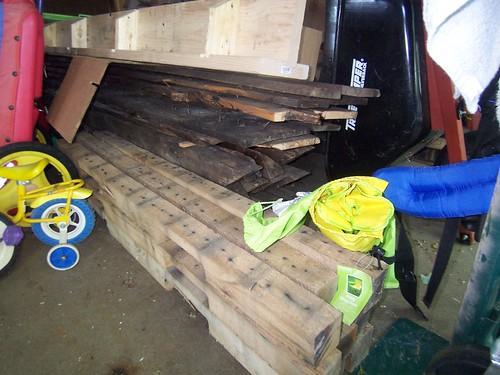 Oak, timberframe, slabs