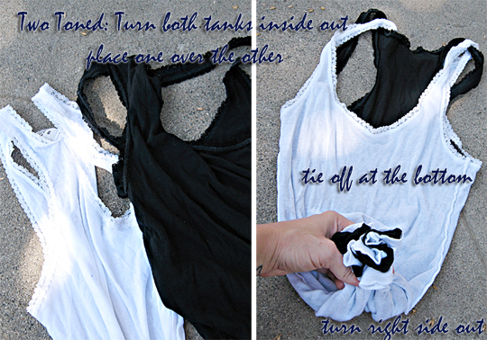 how to make a bag out of a tank top -2