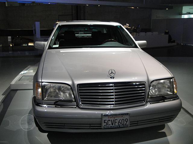Mercedes S600 V12 - Arnold Schwarzenegger 1