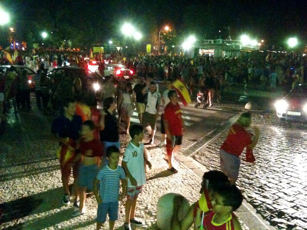 Street party, Aranjuez