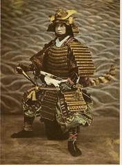 Samurai, Meji Period (glen.h) Tags: men japan vintage 1800s armor warriors samurai 1870s 19century mejiperiod