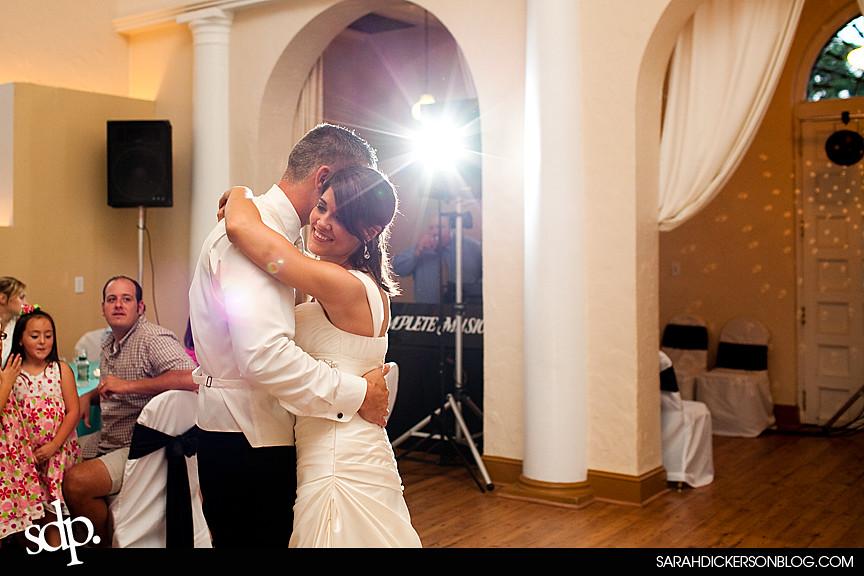 Kansas City wedding reception photographer, the Villas