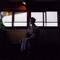 if (mika-rin) Tags: 6x6 mediumformat square friend mo onsen hotspring shereen girlstrip minoltaautocord