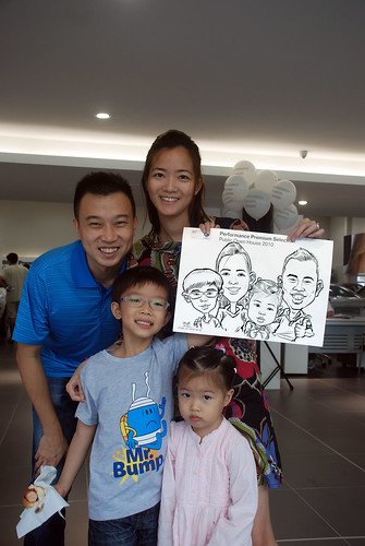 Caricature live sketching for Performance Premium Selection BMW - Day 4 - 4