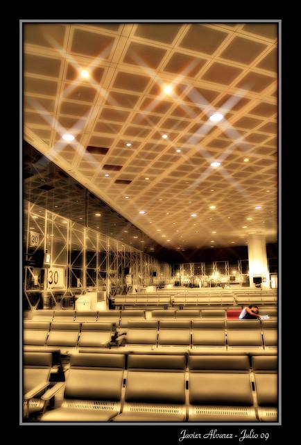 Aeropuerto de Barcelona - En la sala