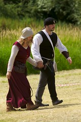 Tewkesbury Festival 2010 - Medieval Love (Mark-Crossfield) Tags: pictures york uk greatbritain friends england love photo fight war king image photos redrose picture battle images medieval gloucestershire lovers queen gloucester lancaster reenactment daysout 2010 whiterose companions tewkesbury englishrose 1471 finalbattle thingstosee warsoftheroses photosof picturesof englishgirl henryvi annualevent waroftheroses worthseeing englishwoman tewkesburymedievalfestival imagesof jaspertudor medievalrose markcrossfield bloodymeadow tewkesburyfestival tewkesburyreenactment edwardofyork margaretanjou