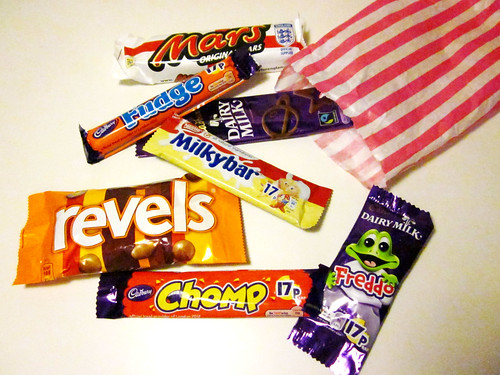Candy from the United Kingdom via Gemma!