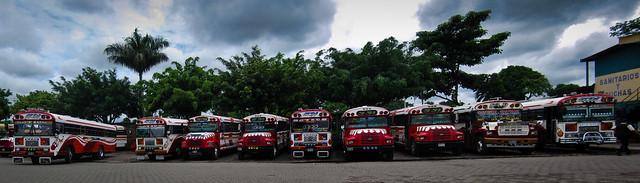 Panorama - Sonsonate bus terminal 2