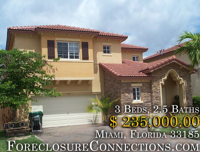 Miami Foreclosures Florida 3Bd 25Ba  23500000  ForeclosureConnectionscom by ForeclosureConnections