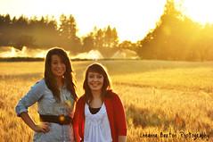 Jefferson, Oregon (Leeanna Barton Photography) Tags: girls sunset summer portrait beautiful field oregon nikon women country smalltown d5000