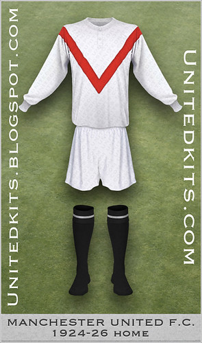 Manchester United 1924-1926 Home kit