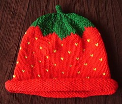 182/365:  Strawberry (MountainEagleCrafter) Tags: hat strawberry handknit 365 etsy fakefruit day182 artfire project365 3661 dawanda 182365 eangteam 365community 70110 3652010 365the2010edition 2010yip project36612010 thethingswesee project365010710 etsybrc project36501jul10 seemyprofileifyoureintrigued