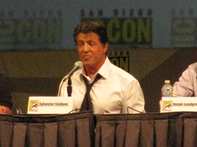 Sylvester Stallone Comic-Con Brasil