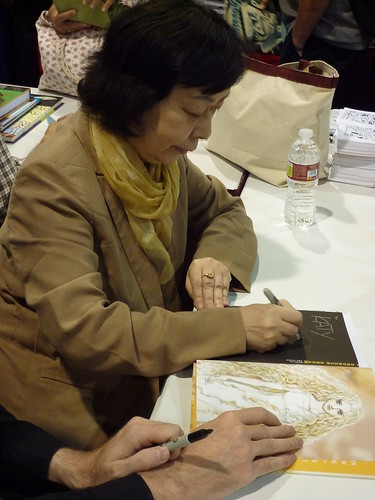 Moto Hagio at Fantagraphics, Comic-Con 2010
