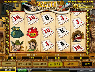 Wanted slot game online review