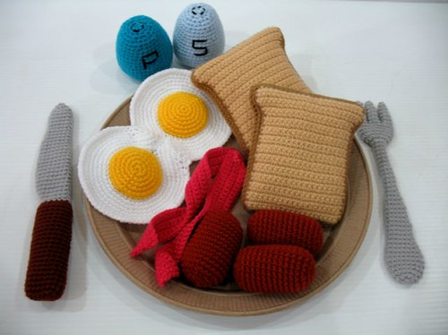 Crochet Western Breakfast