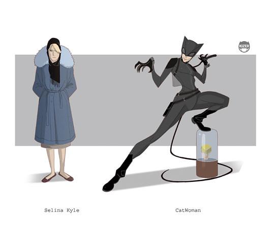 Kizer,  CatWoman - Selina Kyle