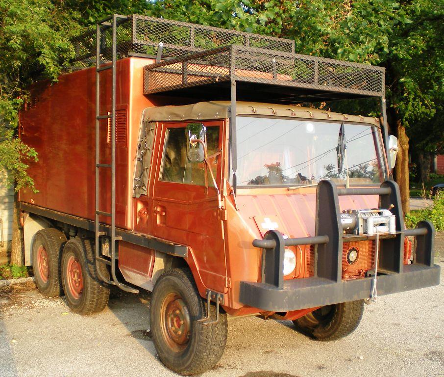 Swiss Army Truck