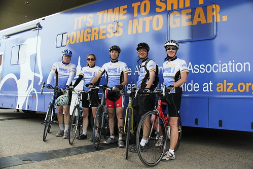 Alzheimer's Breakthrough Ride: The UCLA Mindsavers arrive in Ventura Beach
