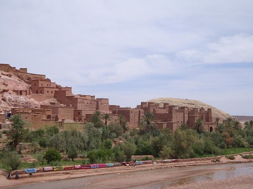 Ksar de Ait-Ben-Haddou em Ouarzazate Marrocos