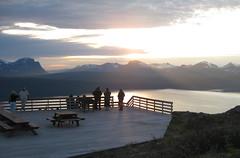 Norway, Narvik (wonky knee) Tags: norway cablecar narvik midnightsun viewingplatforms