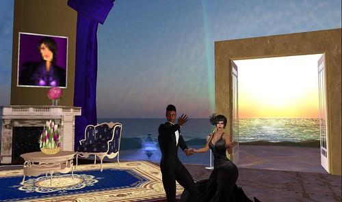 ballroom dancing couple xavier, raftwet in second life