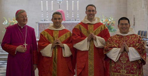 The Archbishop and his Newly Ordained