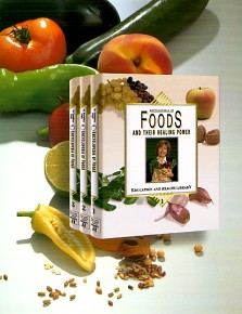 Encyclopedia of Foods and Their Healing Power 3 vol.Special $130.00