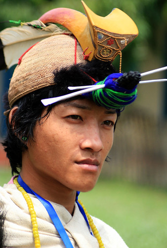 Nishi Tribal man Arunachal Pradesh - India | Flickr - Photo Sharing!