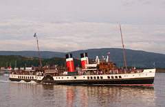 Paddle Steamer Waverley at Millport (Sea Pigeon) Tags: scotland clyde ship paddle steamer millport waverley cumbrae