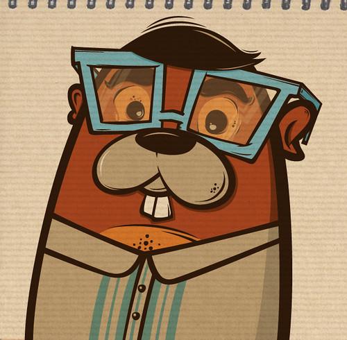 professor beaver by blablasah
