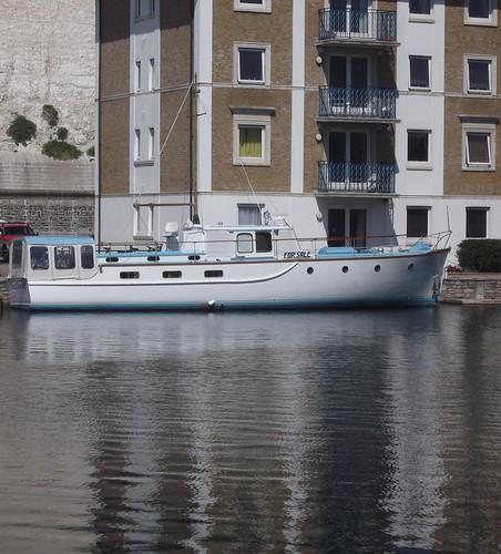 wood old reflection marina sussex boat brighton hull moored