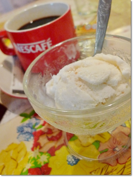 Ice-Cream, Coffee