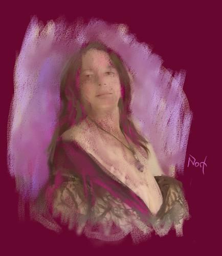Kool Portrait Pastel