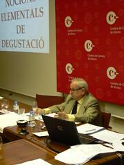 Les jornades de formació varen ser impartides per l'enòleg i l'escriptor Eduard Puig Vayreda