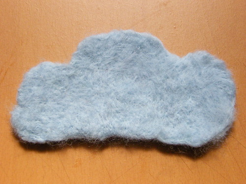 Needle Felted Elements: Air