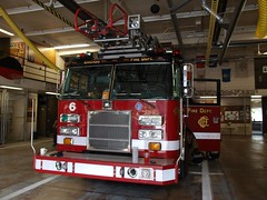 Chicago Fire Department (Ralph Toyama) Tags: 6 chicago station truck fire illinois aerial company dash pierce ladder 2009 department siren apparatus cfd chicagofiredepartment truck6 eq2b