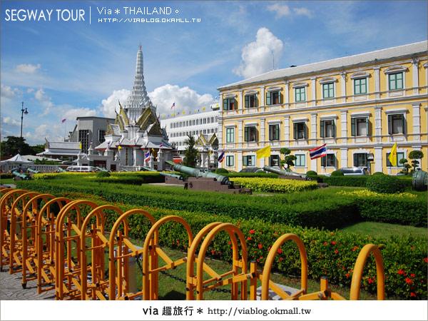 【泰國自由行】曼谷玩什麼?Segway塞格威帶你漫遊~18